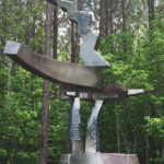 Ed Walker at Carolina Bronze Sculpture Garden