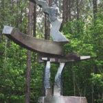 Ed Walker at Carolina Bronze Sculpture Garden