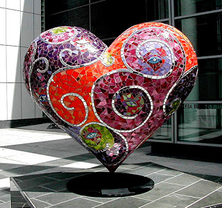 Laurel True heart sculpture